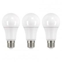 LED žárovka Emos ZQ51603, E27, 14W, kulatá, teplá bílá, 3ks