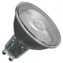 LED žárovka Emos ZQ8333, GU10, 4,2W, čirá, teplá bílá