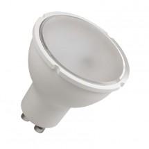 LED žárovka Emos ZQ8340, GU10, 4,5W, čirá,  teplá bílá