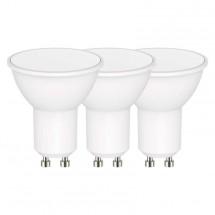 LED žárovka Emos ZQ83403, GU10, 4,5W, teplá bílá, 3 ks