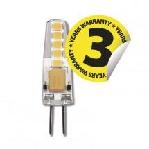 LED žárovka Emos ZQ8621, G4, 2W, čirá, neutrální bílá