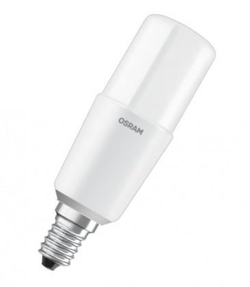 LED žárovka Osram LED STAR, E14, 10W, tyčová, čirá, studená bílá