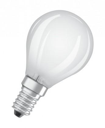 LED žárovka Osram STAR, E14, 4W, kulatá, retro, neutrální bílá