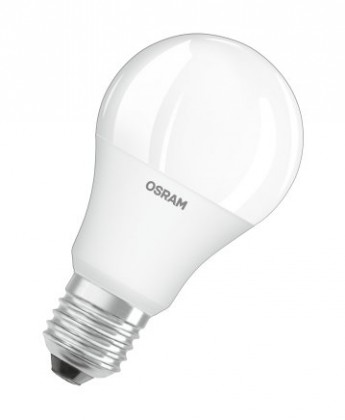 LED žárovka Osram STAR+, E27, 9W, stmívatelná, teplá bílá