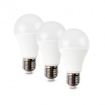 LED žárovka Solight WZ5293, E27, 10W,  kulatá, teplá bílá, 3ks