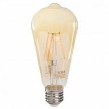 LED žárovka Tesla CRYSTAL, CONE, E27, 4W, retro, teplá bílá