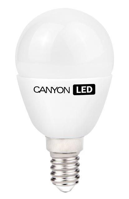 LED žárovky CanyonLEDCOBžárovka,E14,kulatá,mléčná,3,3W,neutrální bílá