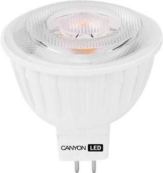 LED žárovky CanyonLEDCOBžárovka,GU5.3,bodová MR16,7.5W,teplá bílá, 60°