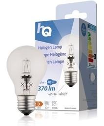 LED žárovky HQ HALOGENOVÁ ECO ŽÁROVKA E27 CLAS 28W 1PC