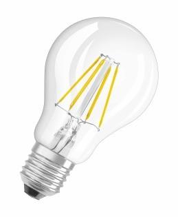LED žárovky LED STAR CL A  FIL 40 non-dim  4W/827 E27