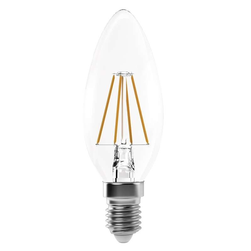 LED žárovky LED žárovka Emos Z74214, E14, 4W, svíčka, retro, neutrální bílá