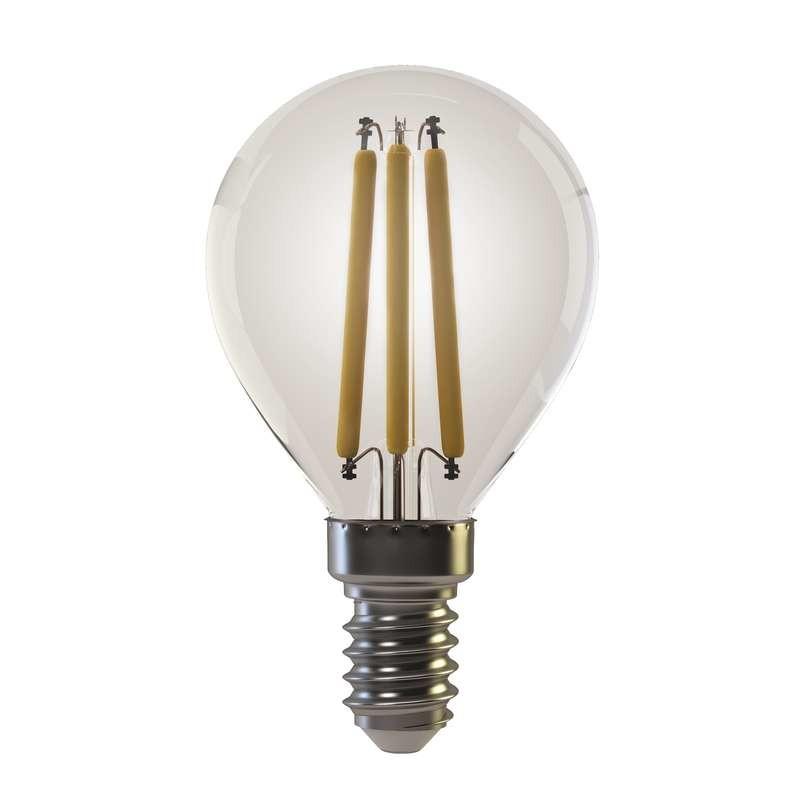 LED žárovky LED žárovka Emos Z74230, E14, 6w, kulatá, retro, teplá bílá