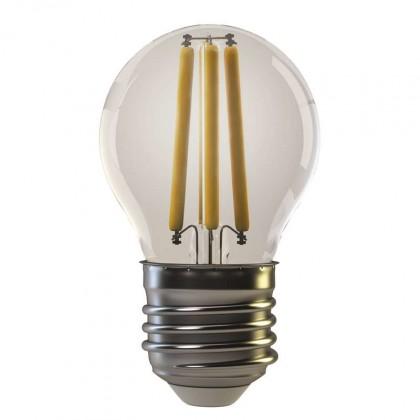 LED žárovky LED žárovka Emos Z74240, E27, 4W, kulatá, retro, teplá bílá