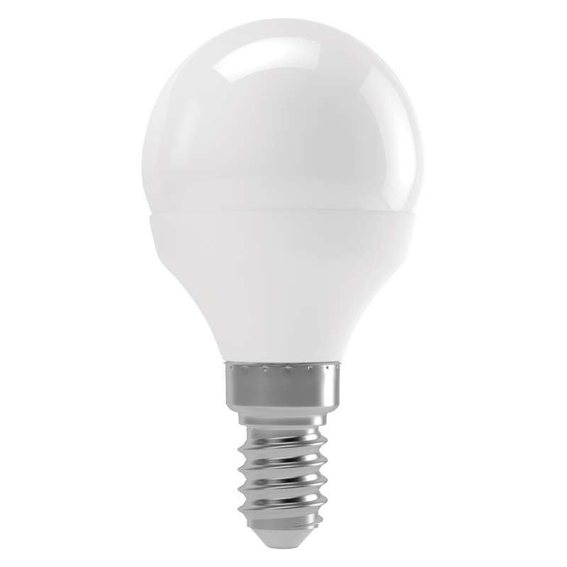 LED žárovky LED žárovka Emos ZL1223, E14, 6W, kulatá, teplá bílá