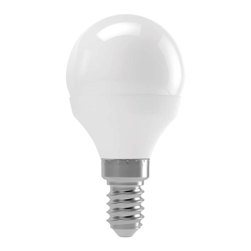 LED žárovky LED žárovka Emos ZQ1210, E14, 4W, mini, čirá, teplá bílá