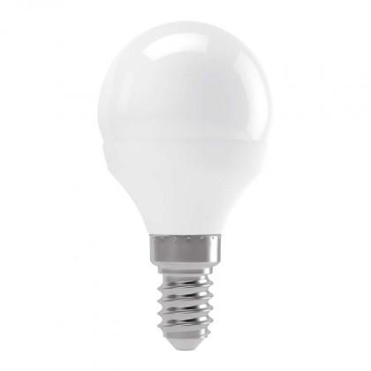 LED žárovky LED žárovka Emos ZQ1211, E14, 4W, mini, čirá, neutrální bílá