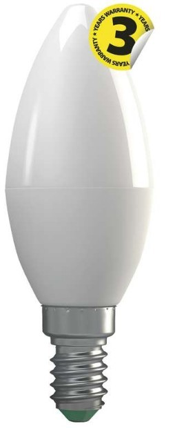 LED žárovky LED žárovka Emos ZQ3210, E14, 4W, svíčka, čirá, teplá bílá