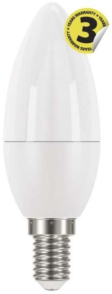 LED žárovky LED žárovka Emos ZQ3220, E14, 6W, svíčka, čirá, teplá bílá