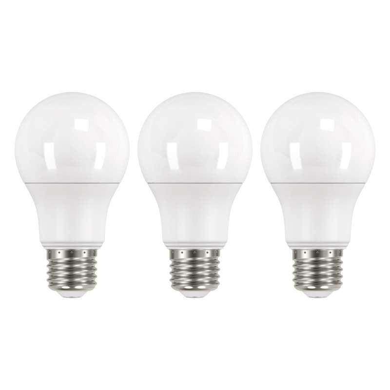 LED žárovky LED žárovka Emos ZQ51403, E27, 9W, teplá bílá, 3 ks