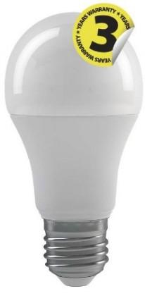 LED žárovky LED žárovka Emos ZQ5141, E27, 9W, kulatá, čirá, neutrální bílá