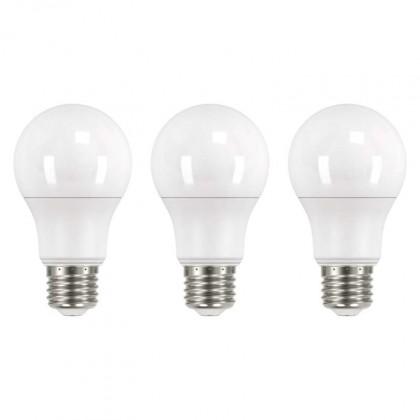 LED žárovky LED žárovka Emos ZQ51503, E27, 10,5W, teplá bílá, 3ks
