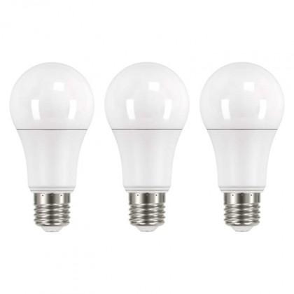 LED žárovky LED žárovka Emos ZQ51603, E27, 14W, kulatá, teplá bílá, 3ks