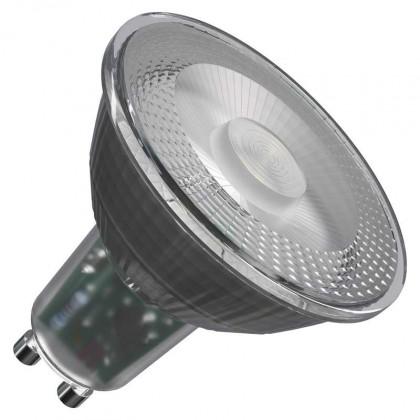 LED žárovky LED žárovka Emos ZQ8333, GU10, 4,2W, čirá, teplá bílá