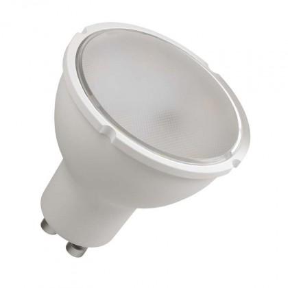 LED žárovky LED žárovka Emos ZQ8340, GU10, 4,5W, čirá,  teplá bílá
