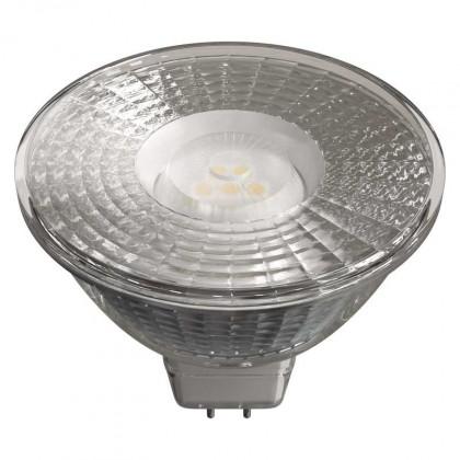 LED žárovky LED žárovka Emos ZQ8433, GU5.3, 4,5W, čirá, teplá bílá