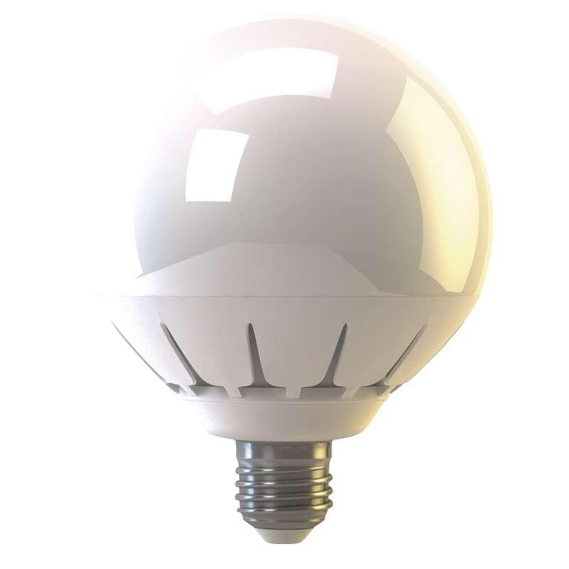 LED žárovky LED žárovka Globe 20W E27 teplá bílá