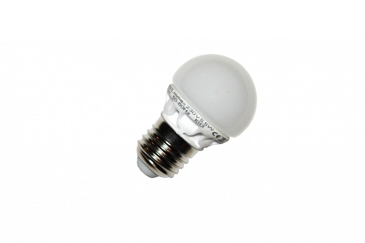 LED žárovky LED žárovka IMMAX E27/5,5W G45 500lm 230V