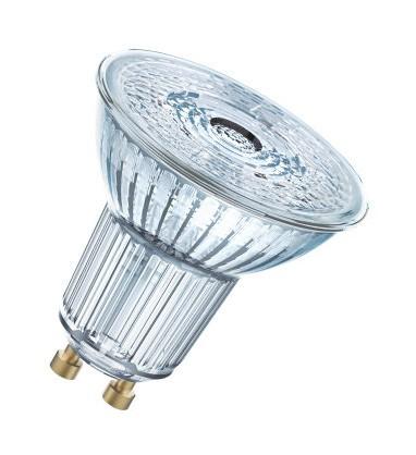 LED žárovky LED žárovka Osram BASE, GU10, 3,6W, neutrální bílá, 3 ks