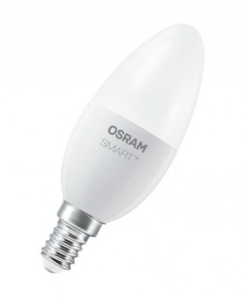 LED žárovky LED žárovka Osram Smart+, E14, 6W, svíčka, teplá bílá
