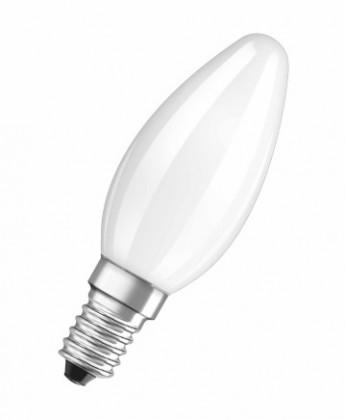 LED žárovky LED žárovka Osram STAR, E14, 4,5W, kulatá, čirá, teplá bílá