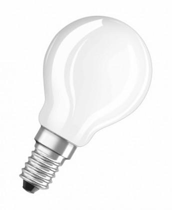 LED žárovky LED žárovka Osram STAR, E14, 4W, kulatá, čirá, teplá bílá