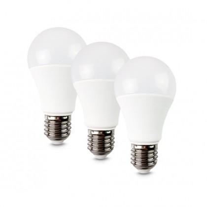 LED žárovky LED žárovka Solight WZ5293, E27, 10W,  kulatá, teplá bílá, 3ks