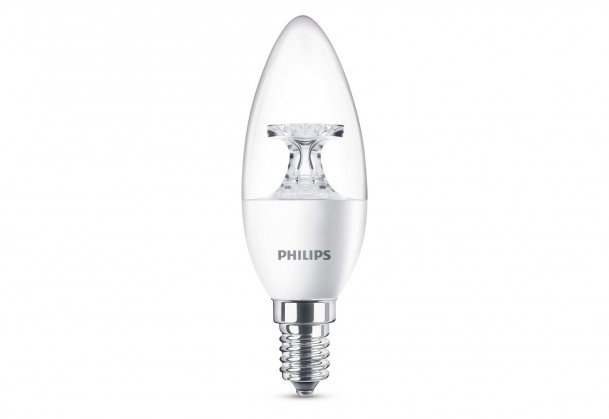 LED žárovky Philips LED žárovka 40W E14 WW 230V B35 CL ND/4