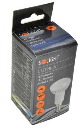 LED žárovky Solight LED žárovka reflektorová,R50,5W,E14,3000K,400lm,bílá