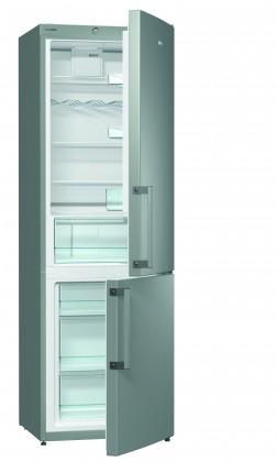 Lednice ZLEVNĚNO Kombinovaná lednice s mrazákem dole GORENJE RK 6192 BX, A++