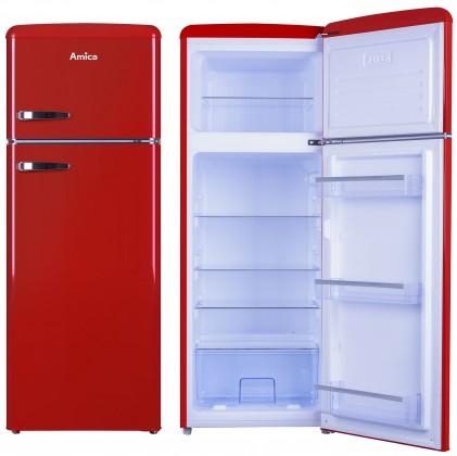 Lednice ZLEVNĚNO Kombinovaná lednice s mrazákem nahoře Amica VD 1442 AR