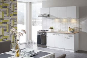 Lela - Kuchyňský blok 210 C (bílá/bardolino/dub bardolino)