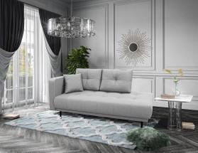 Lenoška Bony s úložným prostorem, levá strana, šedá