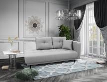 Lenoška Bony s úložným prostorem, pravá strana, šedá