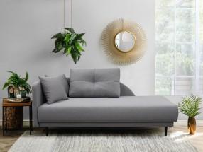 Lenoška Ize s úložným prostorem, levá strana, šedá