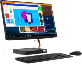 """Lenovo All-in-one A540, 23.8"""", /Ryzen3/8G/1T/INT/W10H černý + ZDARMA USB-C Hub Olpran v hodnotě 999 Kč"""