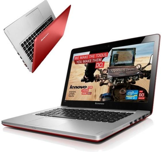 Lenovo IdeaPad U410 (59332665), červený