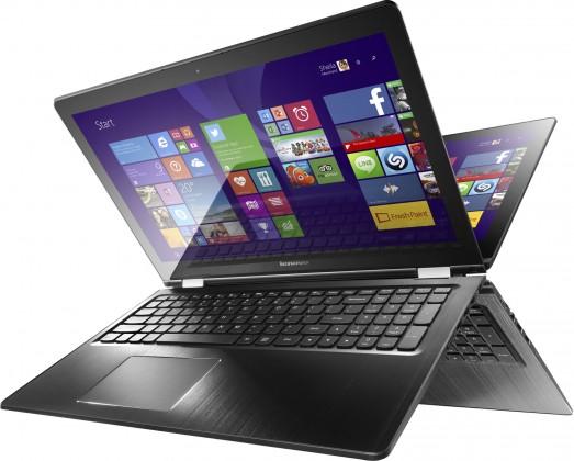 Lenovo IdeaPad Yoga 80VC0005CK, černá