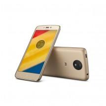 Lenovo Moto C Plus FINE GOLD + powerbanka zdarma