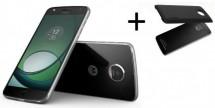 Lenovo Moto Z Play + Incipio Power Pack, černá