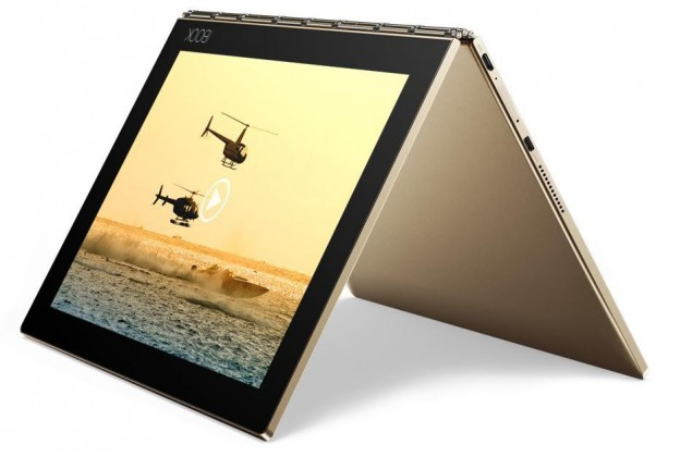 Lenovo Yoga Book 10 ZA0W0056CZ, zlatá
